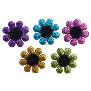 Яркие цветы Пуговицы декоративные Jesse James & Co