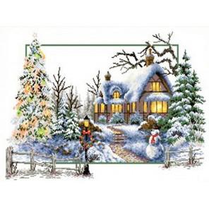 Зимняя сказка Набор для вышивания Каролинка