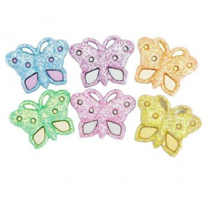 Бабочки сверкающие Пуговицы декоративные Jesse James & Co