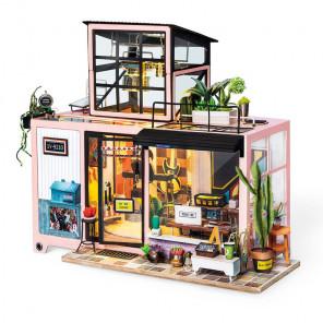 Городская студия Набор для создания миниатюры румбокс