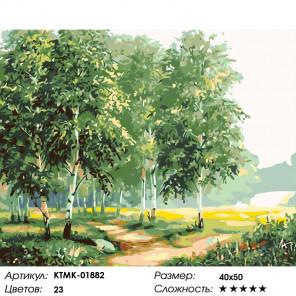 Количество цветов и сложность Тихое утро Раскраска по номерам на холсте Живопись по номерам KTMK-01882