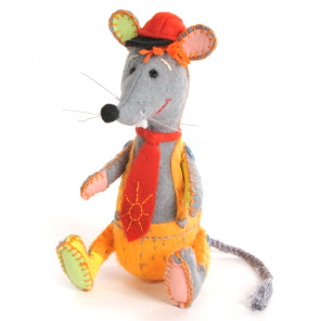 Озорной мышонок Набор для создания игрушки своими руками