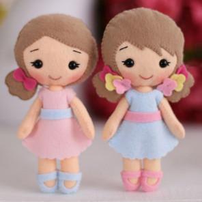 Малышки Полина и Алина Набор для создания игрушки своими руками Тутти 05-50