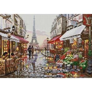 Прогулка по Парижу Канва с рисунком для вышивки бисером Конек 1238