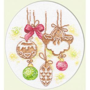 Имбирные пряники Набор для вышивания Овен 1012