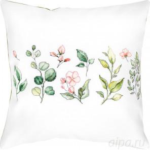 Ботаника Набор для вышивания подушки Luca-S PB201