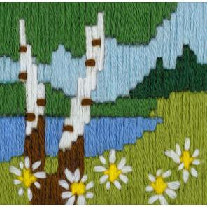 Лесное озеро Набор для вышивания Риолис 1651
