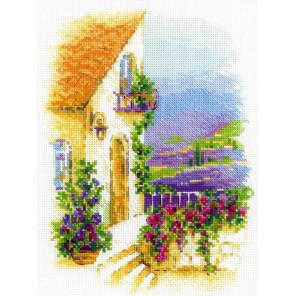 Прованская улочка Набор для вышивания Риолис 1689
