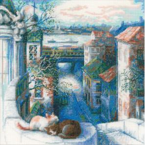 Ранняя весна Набор для вышивания Риолис 1705