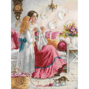 Первые уроки вышивки Набор для вышивания Риолис 1789