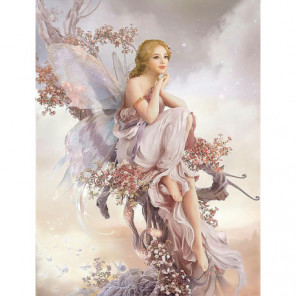 Фея цветов Алмазная вышивка мозаика Алмазное Хобби