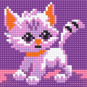 Котенок Алмазная вышивка мозаика Алмазное Хобби
