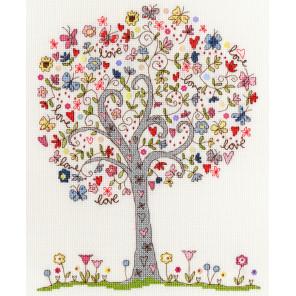 Любимое дерево Набор для вышивания Bothy Threads XKA2
