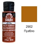 2902 Пуэбло Для любой поверхности Сатиновая акриловая краска Multi-Surface Folkart Plaid