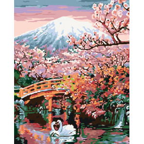 Красота востока Раскраска картина по номерам на холсте ARTH-AH332