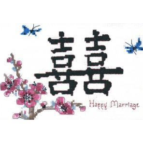 Счастливый брак Набор для вышивания CANDAMAR DESIGNS 51267