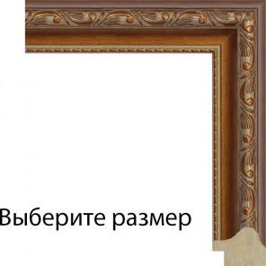 Завитки с декоративной полоской Рамка для картины на подрамнике N135