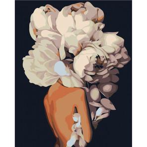 Скромный букет Раскраска картина по номерам на холсте Z-AB194-80x100