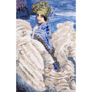 Царевна-лебедь Набор для вышивания бисером Золотое Руно РТ-065