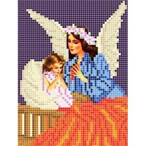 Ангел Ткань для вышивания с нанесенным рисунком Божья коровка 0075