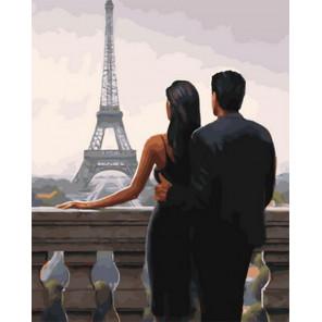 Свидание в Париже Раскраска картина по номерам на холсте Z-GX30669