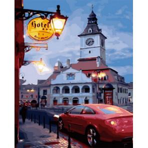 Старый город Раскраска картина по номерам на холсте Z-GX30888