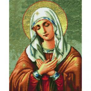 Пресвятая Богородица Умиление Алмазная мозаика вышивка Painting Diamond