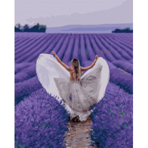 Свадьба в Провансе Раскраска картина по номерам на холсте PK51041