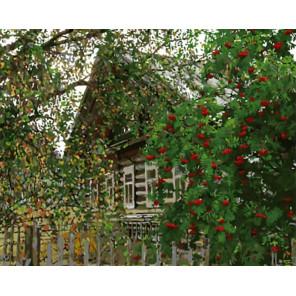 Деревня Раскраска картина по номерам на холсте Z-GX8887
