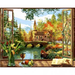 Домик пастора Раскраска картина по номерам на холсте