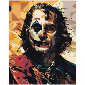 Джокер Абстракция Раскраска картина по номерам на холсте