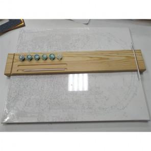 Подставка для рисования (опора для руки) 54х9 см ФР-5410
