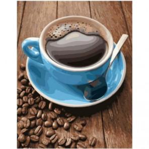 Крепкий кофе Раскраска картина по номерам на холсте