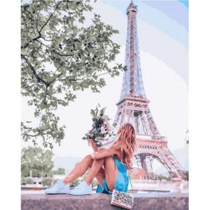 Хотели бы побывать в Париже? Раскраска картина по номерам на холсте GX36095