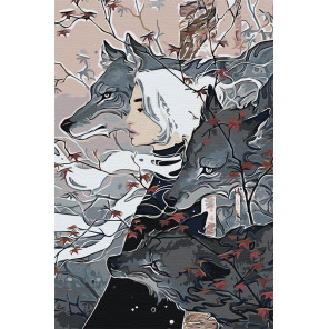 Легкой походкой Раскраска картина по номерам на холсте AAAA-JV7-80x120