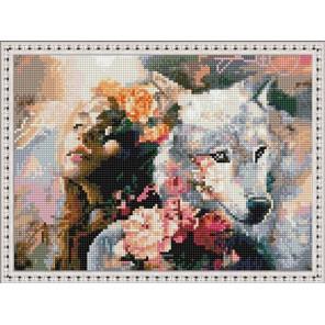 Идиолатрия Алмазная вышивка мозаика на подрамнике EQ10379