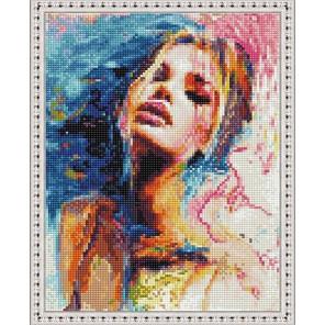 Женственность Алмазная вышивка мозаика на подрамнике EQ10308