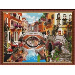 Мосты Венеции Алмазная вышивка мозаика на подрамнике EQ10343