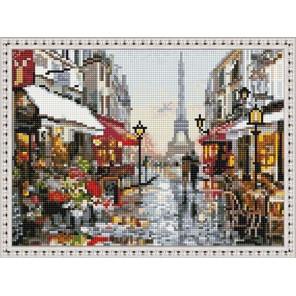 Прекрасный Париж Алмазная вышивка мозаика на подрамнике EQ10322