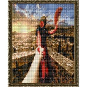 Следуй за мной. Испания Алмазная вышивка мозаика на подрамнике EQ10372
