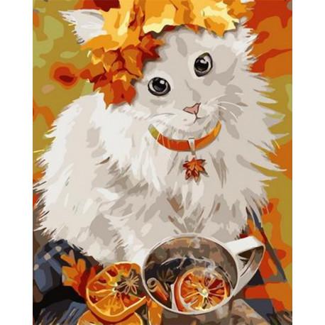 PK72060 Согревающие осень Раскраска картина по номерам на ...