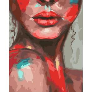 Эмоции в красках Раскраска картина по номерам на холсте PK72016