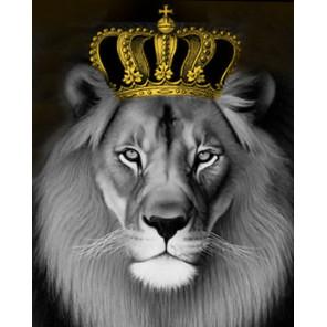 Король лев Раскраска картина по номерам на холсте MG2146
