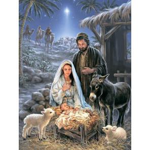 Рождество Христово Алмазная мозаика на подрамнике LMC020