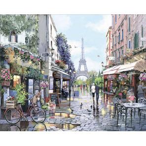 Париж Весной Алмазная мозаика на подрамнике LG260