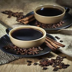 Кофейный аромат Алмазная мозаика вышивка без подрамника Molly KM0228