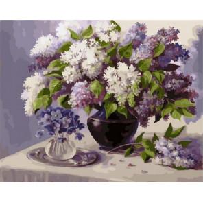 Сиреневый май Раскраска картина по номерам на холсте PK79008