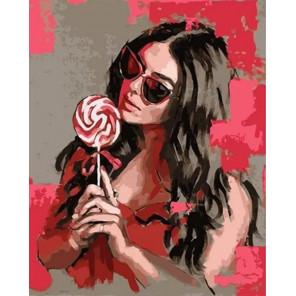 Карамельная сладость Раскраска картина по номерам на холсте MCA1005