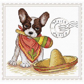 Мой верный друг. Мексика Набор для вышивания МП Студия М-069