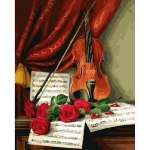 Мелодия любви Раскраска картина по номерам на холсте MCA1051